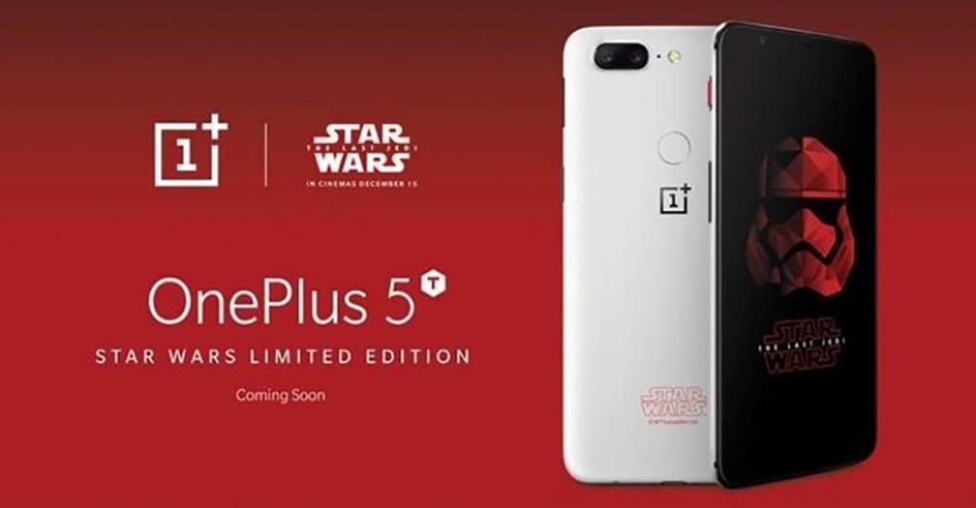 OnePlus 5T Star Wars limited edition price and specs on Revu Philippines