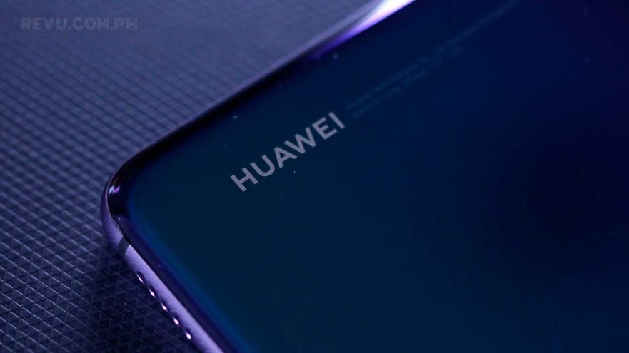 Huawei P20 Pro logo on Revu Philippines