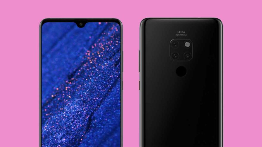 Huawei Mate 20 image renders design leak on Revu Philippines